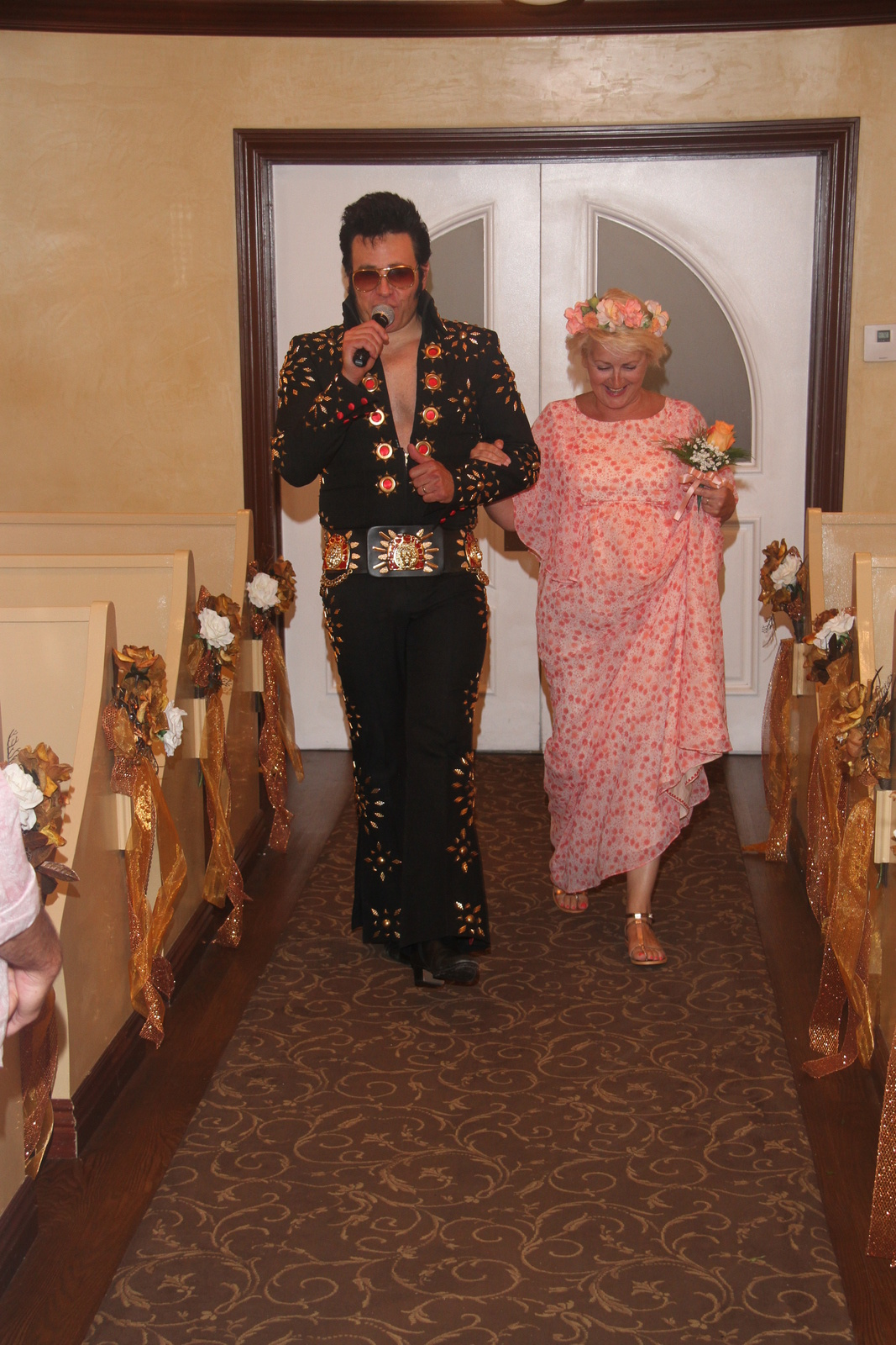 Las Vegas, Elvis et moi !