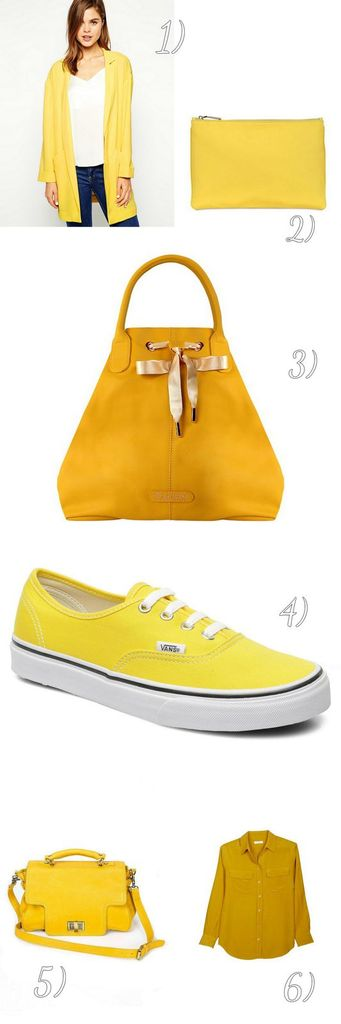 shopping en jaune