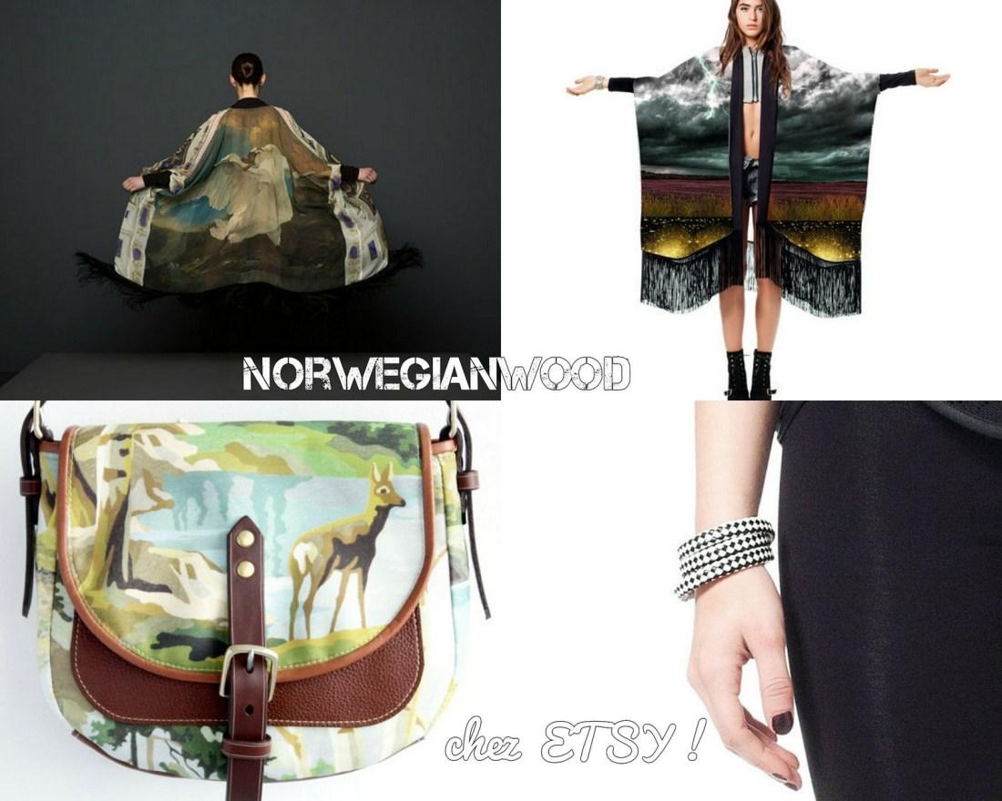 kimonos, sac et bijoux!