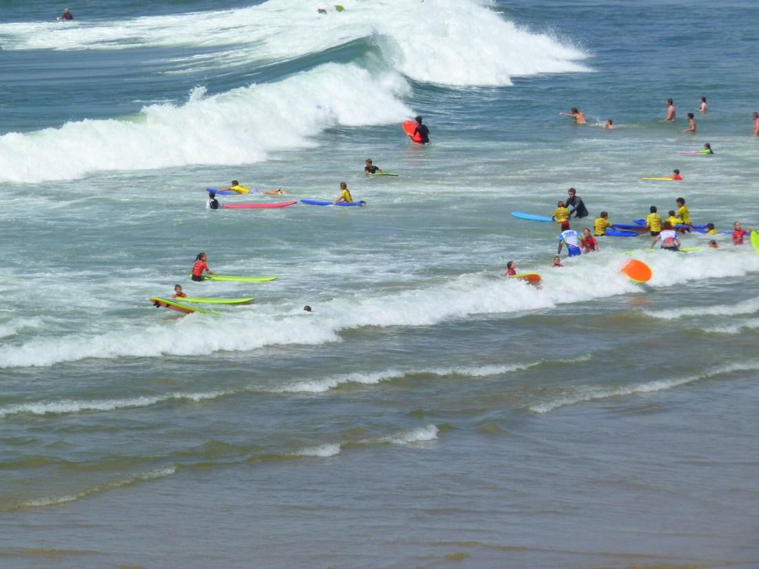 Surf à Biarritz !