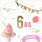 Concours blog'Anniversaire : 6 ans déjà...Avec Bobrunel! - Chiffons and co, blog Mode, Lifestyle, Voyage