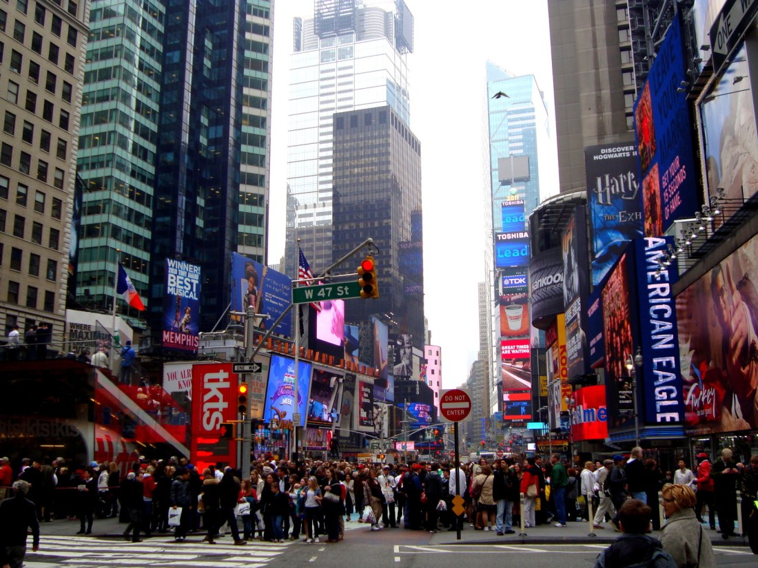 Time square de jour...