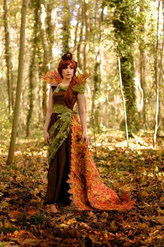 deesse de l'automne