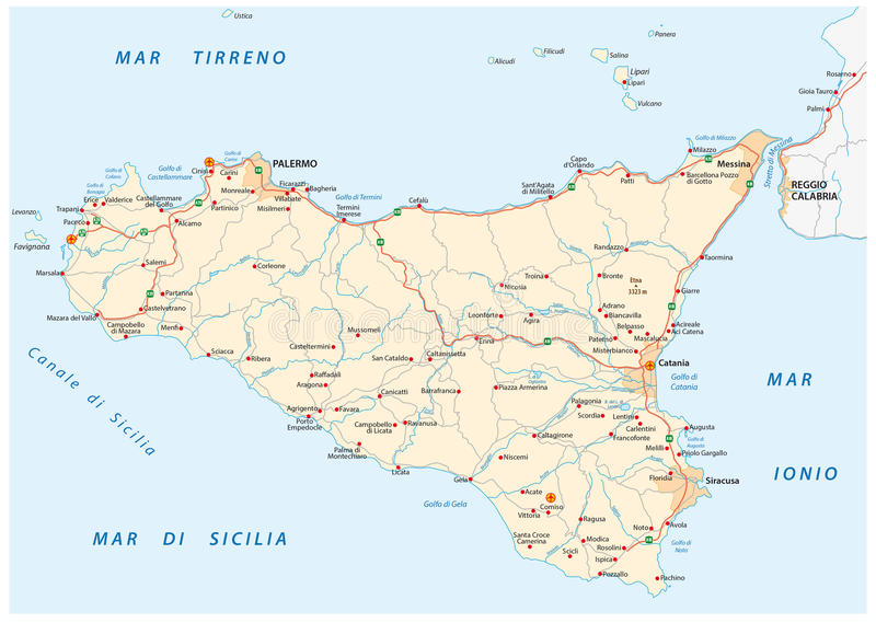 carte-sicile-italie-