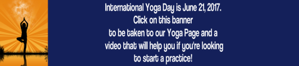yoga day banner