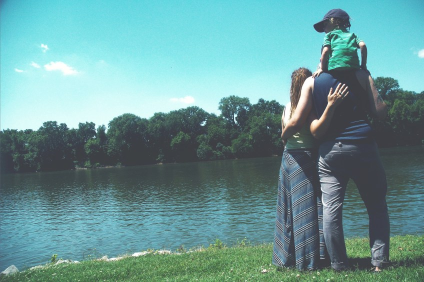 family spending time with purpose