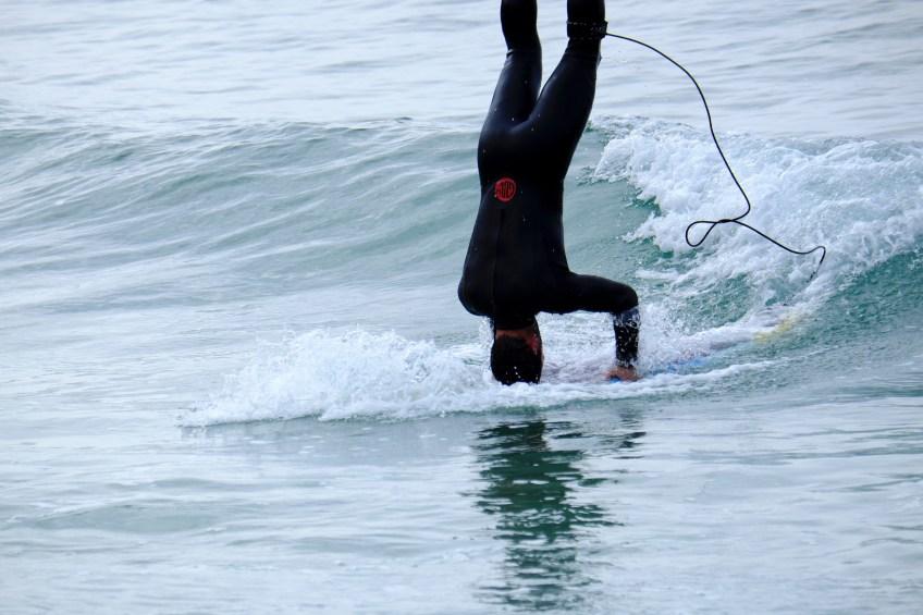 surfer enjoying life