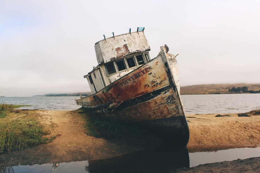 stranded boat life