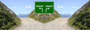 signpost toward decision