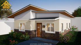 Simple Low Budget House Design 8x9 meters 2 Bedroom Bungalow Plan Best Home Design Video