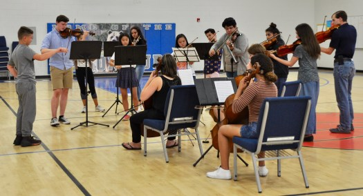 Outreach Program by Students from Pacific Crest Music Festival