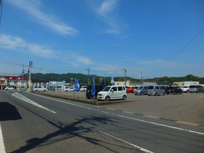 伊太祁曽駅駐車場
