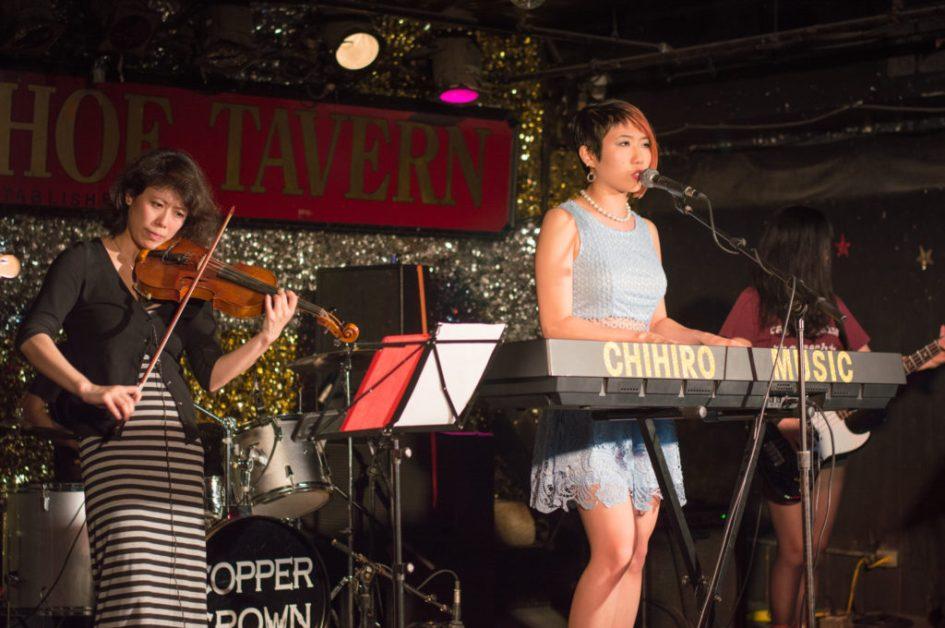 Horseshoe tavern show july 2017 summer chihiro & The Bluenotes