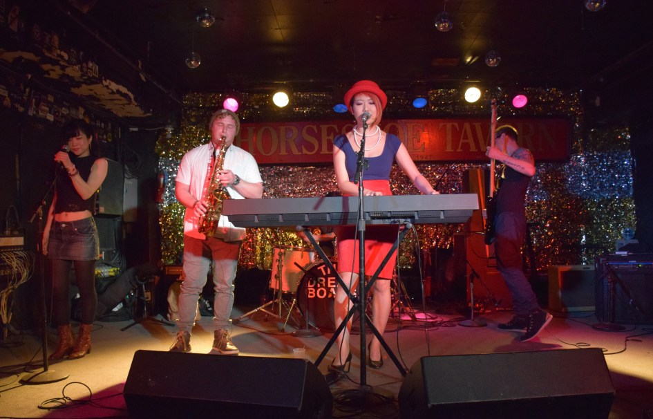 March 2017 at Horseshoe tavern show chihiro & the bluenotes toronto live music