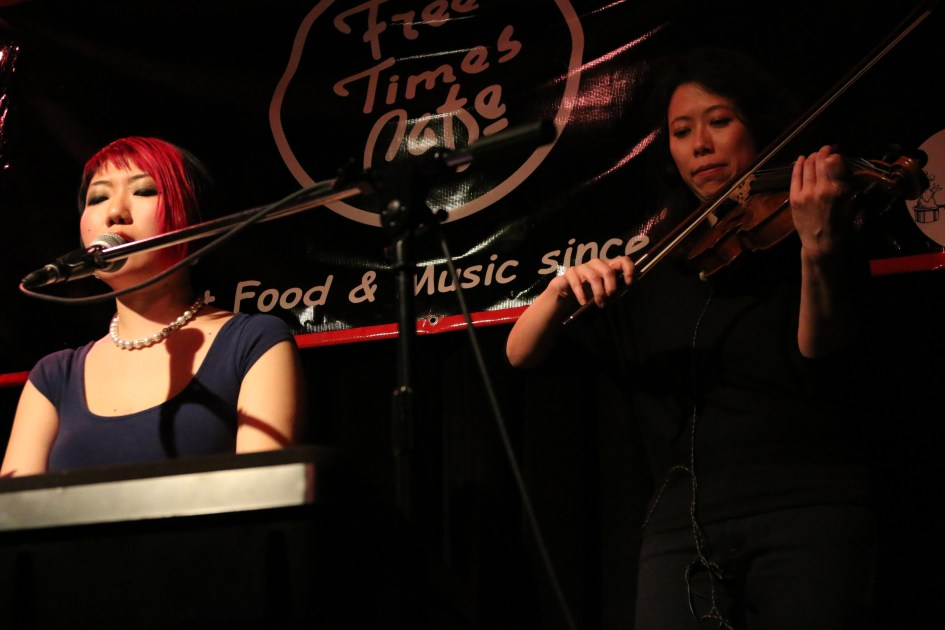 FREE TIMES CAFE SHOW CONCERT CHIHIRO & THE CLASSY NOTES LIVE MUSIC