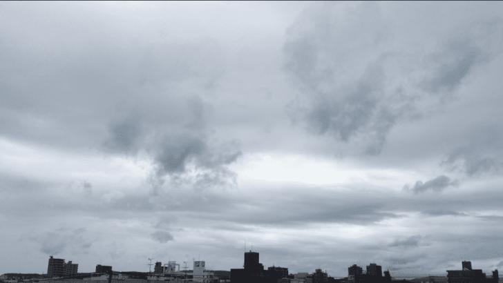 札幌 曇天 音 爆発 地鳴り