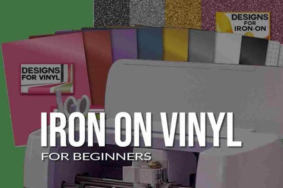 Iron On Vinyl For Beginners