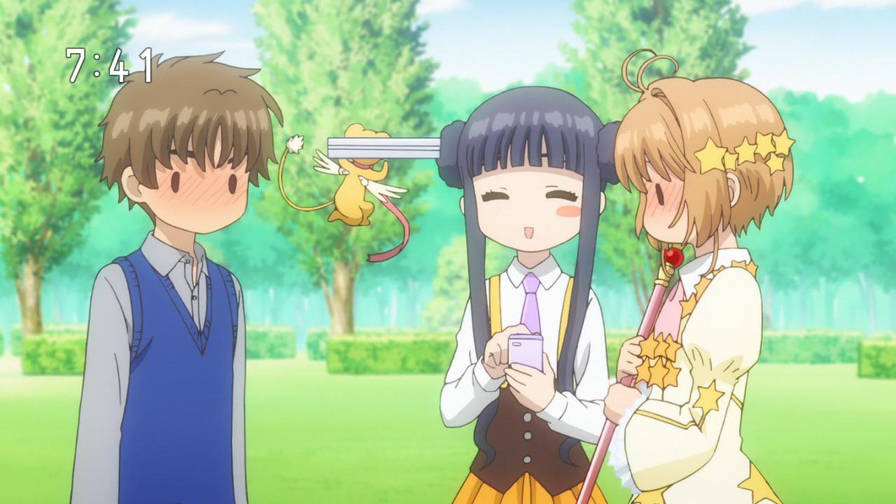New Cute Wallpaper Cardcaptor Sakura Clear Card Hen Episode 7 Tomoyo