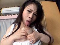 何でも言う事聞く新妻の元カノにセルフ乳首&母乳舐めをさせてみた