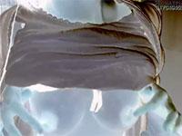 乳首でイキそうになるとリアル射乳する敏感デカ乳首主婦さんが神