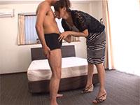 181cmの長身モデル麻生ゆうさんは片時も乳首責めを忘れないデキるモデルだった!!