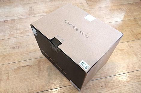 VRヘッドマウントディスプレイ「IDEALENS K2」の箱