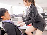 祝!吉沢明歩さんの初チクビ責め物「物凄い乳首責めでガチ勃起した男根をオフィス内でハメ狂う美人OL 吉沢明歩」が動画配信開始!