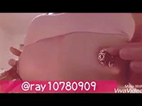 裏垢乳首女神のド変態乳首オナニー自撮り動画!「可愛らしい乳首リングを付けて」「指と綿棒で乳首擦り」の超必見乳首オナニー2本立て!