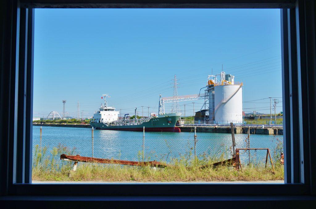 旧長崎税関三池税関支署 明治日本の産業革命遺産 三池港船渠 一枚の絵画