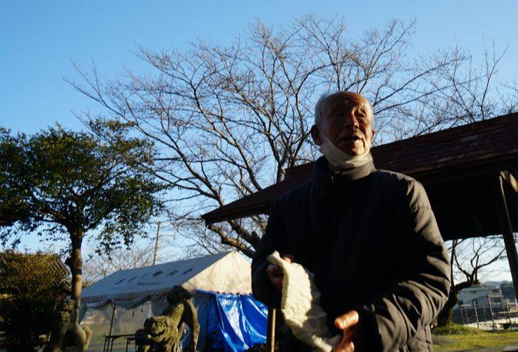福岡県八女市忠見261-1 正八幡宮 地元のおっちゃん ちくごさるき