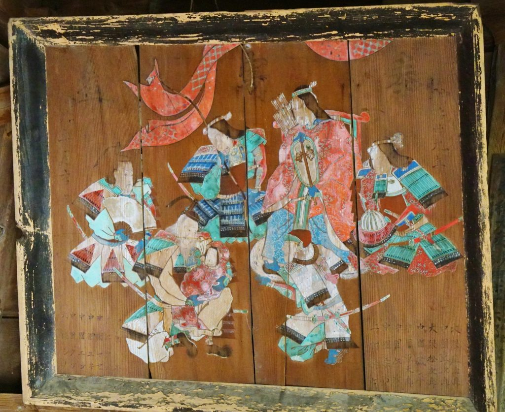 福岡県八女市忠見261-1 正八幡宮の大絵馬 奉寄進