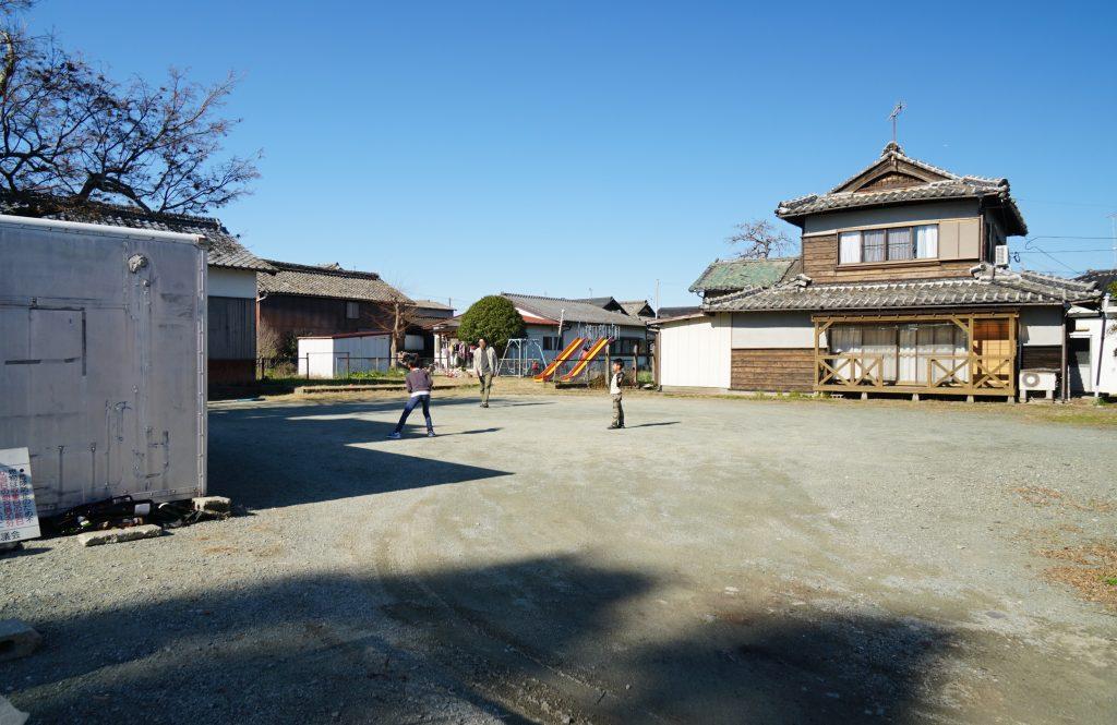 福岡県八女市津江 花宗神社裏の空き地 公園 駐車場