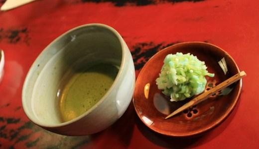 【金沢】ひがし茶屋街にある久連波で抹茶&甘味を堪能してきた【石川のグルメ】