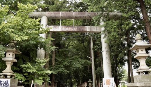 【石岡】常陸國総社宮へ行ってきた【茨城の神社】