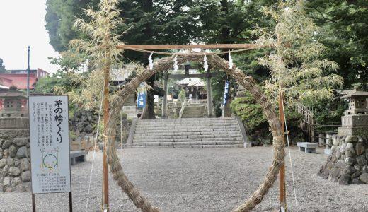 深谷駅のすぐ近く!瀧宮神社へ行ってきた【埼玉の神社】