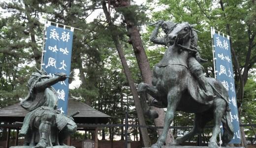 迫力満点の像や御朱印もあるぞ!川中島古戦場八幡社へ行ってきた【長野の神社】