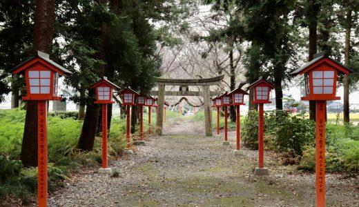 【栃木】美しい参道に癒される!春日神社へ行ってきた【栃木の神社】