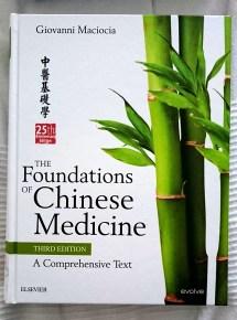 Leestip: The foundations of Chinese Medicine -Giovanni Maciocia