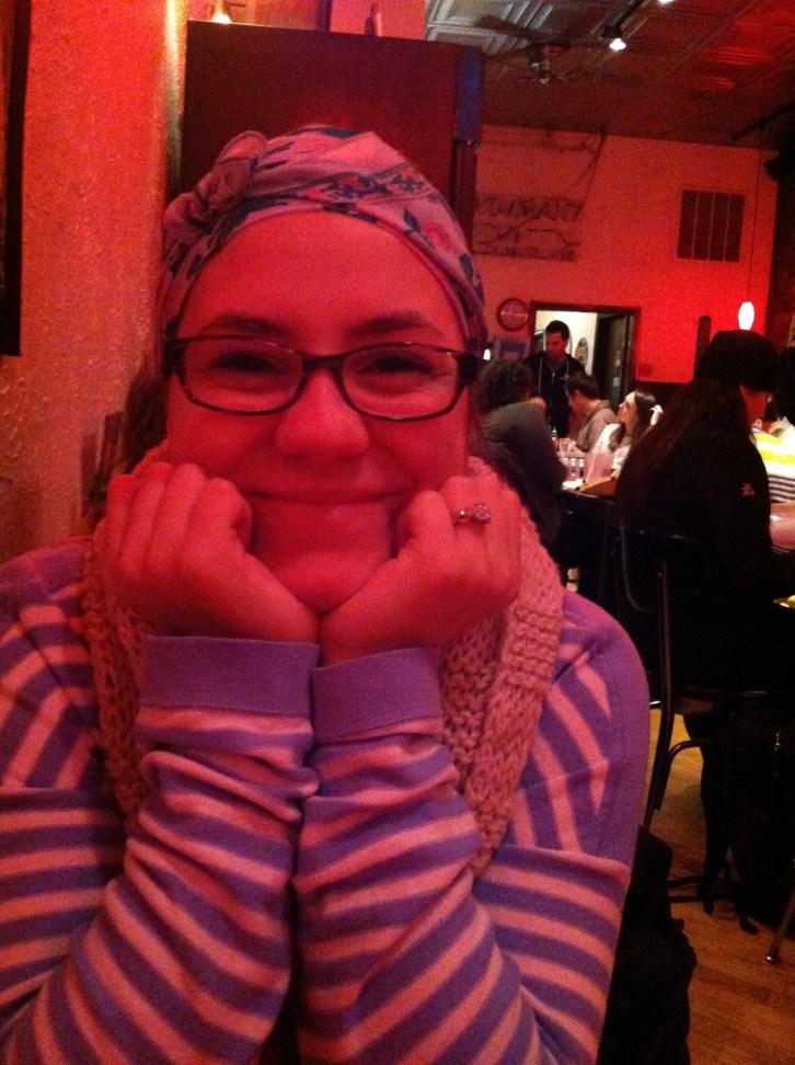 Kristin, the beautiful GF bride