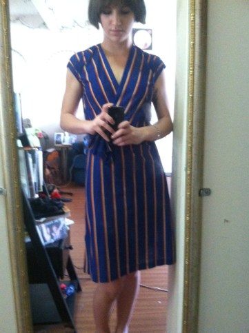 Adorable dress from Oh Joy! I have to resist the urge to wear it more than once a week