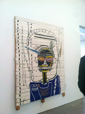 Only snap I could get of Basquiat