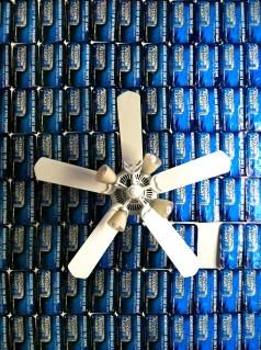 Frat House ceiling