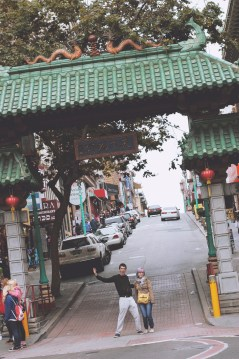 dutch angle china town