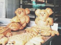 Sourdough Teddy Bears at Boudin's