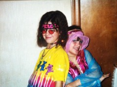Told you I always wanted to be a hippie. Erin's a cute genie.