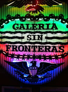 Galeria sin Fronteras exhibit at the National Museum of Mexican Art