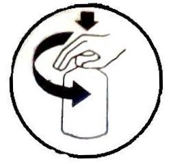 """The """"Palm N Turn"""" Safety Cap"""