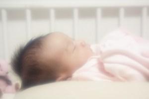 赤ちゃんベビーベッド