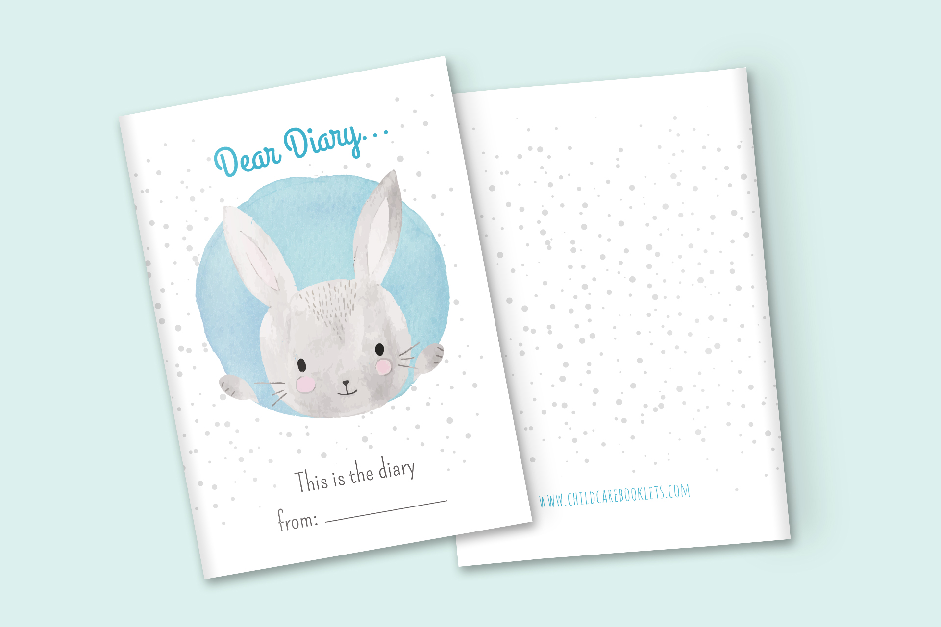 DIY baby diary  Child Care Booklet