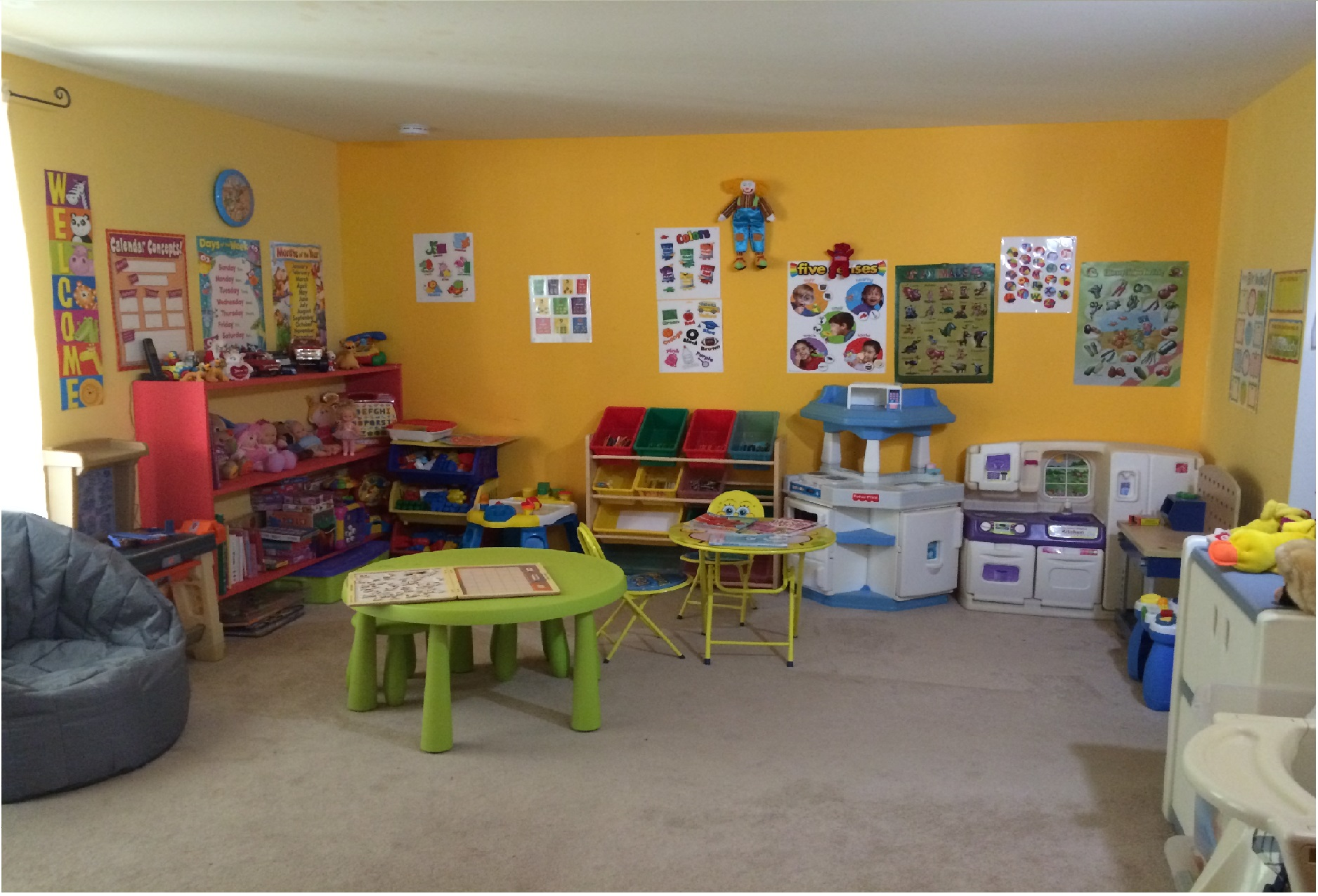 Family Home Daycare Ideas
